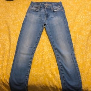 Woman's 7 for all mankind Roxanne jeans size 24